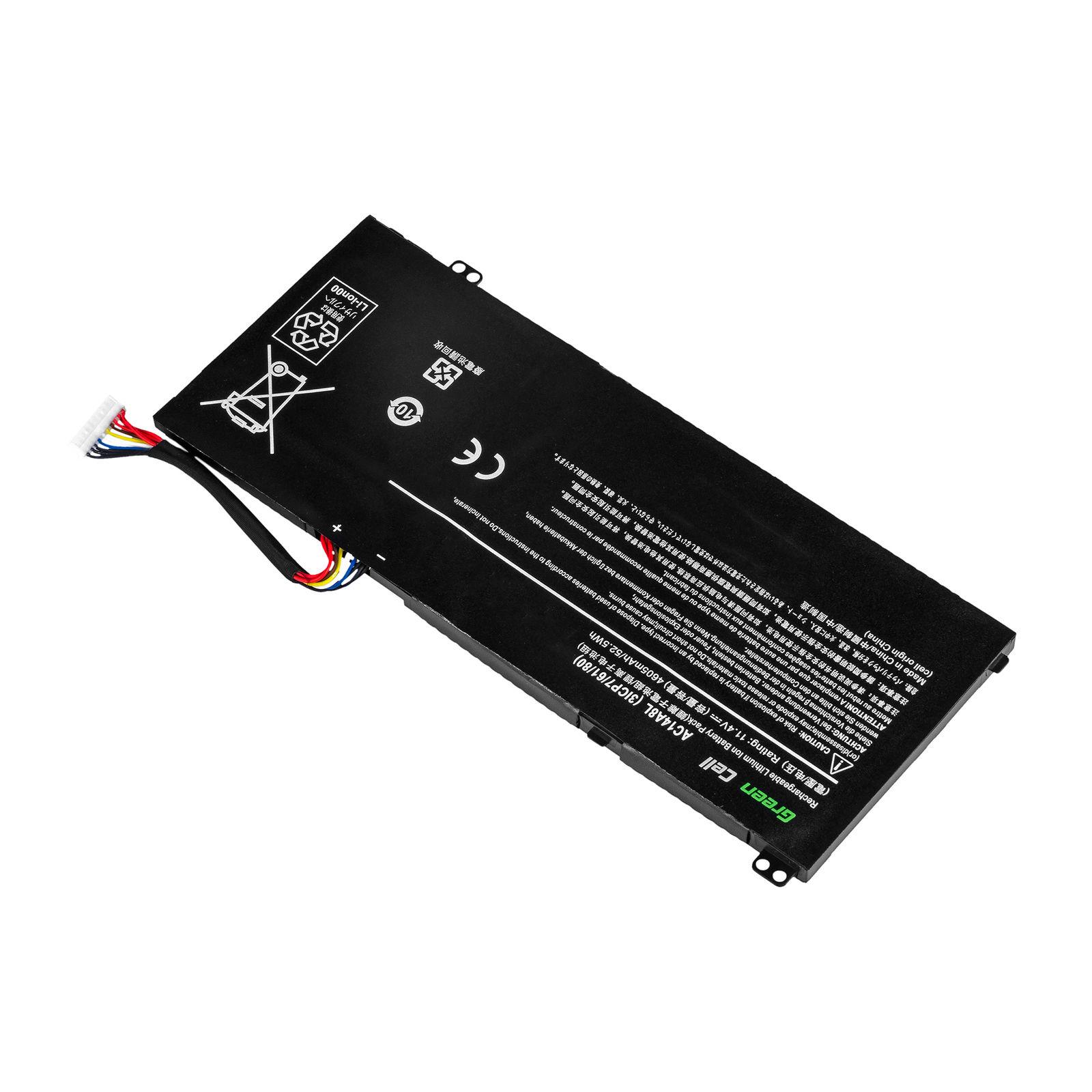 Batería para Acer Aspire V15 Nitro VN7-571G-70MR VN7-572 VN7-572G(compatible)