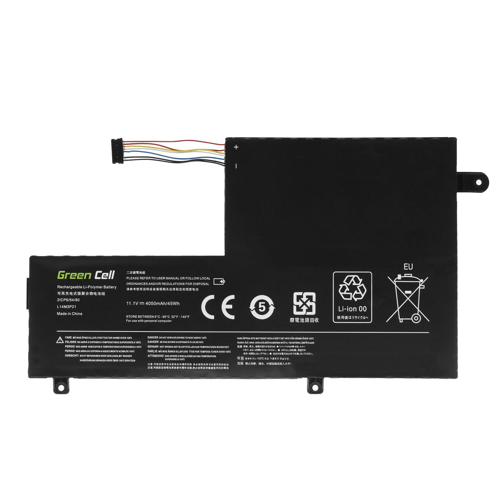 Batería para Lenovo Yoga 500-14ACL 500-14IBD 500-14IHW 500-14ISK(compatible)