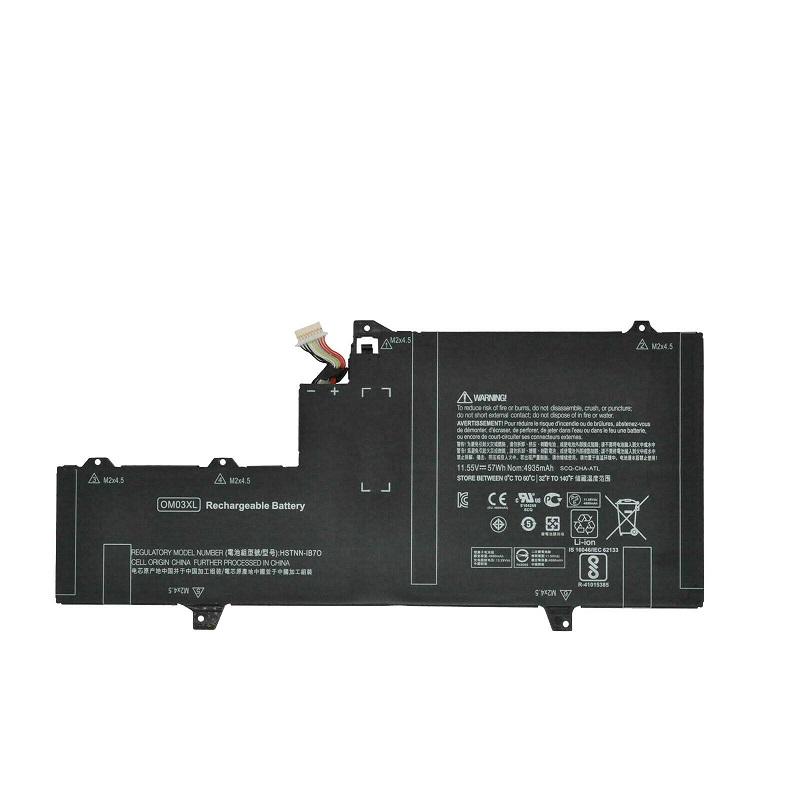 Batería para OM03XL HP EliteBook X360 1030 G2 HSTNN-IB70 863167-1B1(compatible)